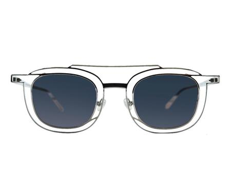 Thierry Lasry Gendery sunglasses - Clear/Silver