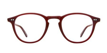 unisex Garrett Leight Hampton 44 glasses - Red