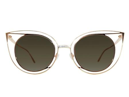 Thierry Lasry Morphology Sunglasses - Gold