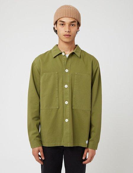 Bhode Box Shirt - Loden Green