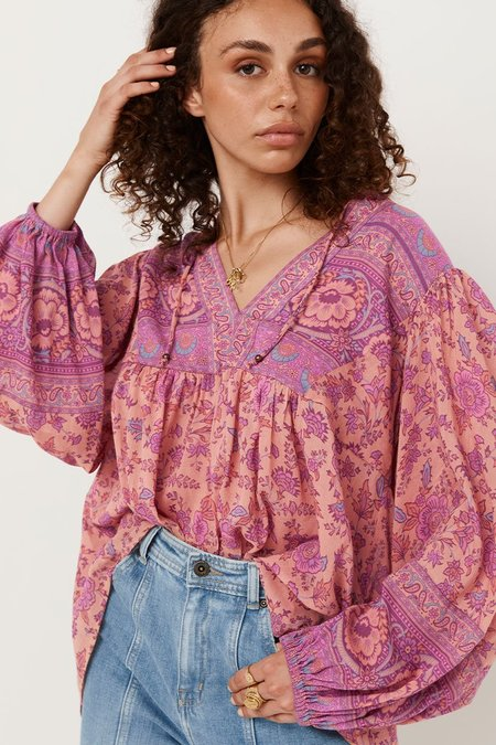 SPELL & THE GYPSY COLLECTIVE Folk Song Blouse - Blossom