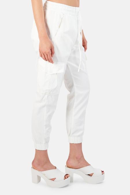 NSF Johnny Cargo Jogger Pants - White