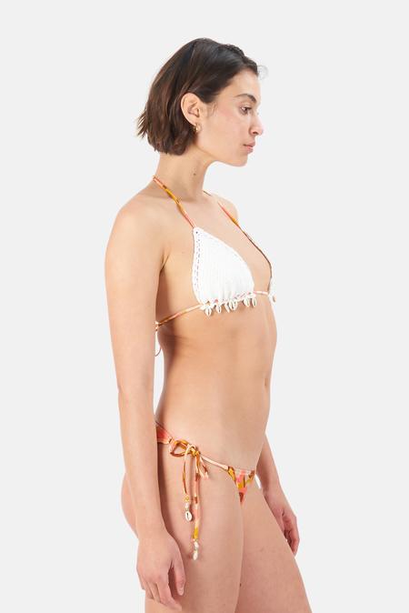 Zimmermann Mae Crochet Bikini Swimwear - Swirl