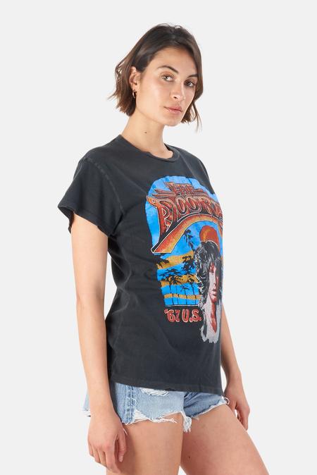 MadeWorn Rock The Doors '67 US Tour T-Shirt - Coal Pigment