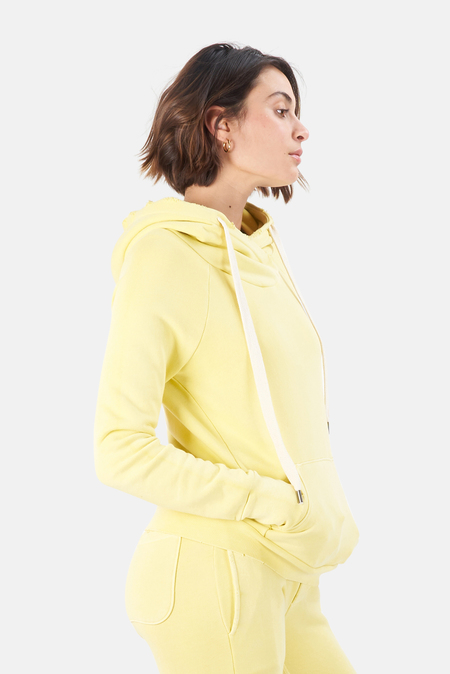 NSF Lisse Pullover Hoodie Sweater - Pigment Goldfinch