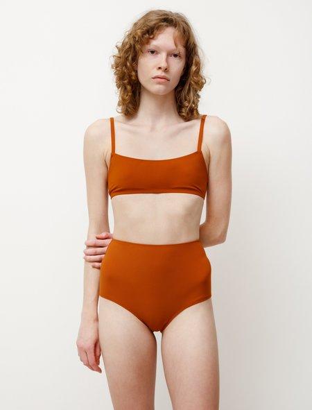 Lido Undici High Waist Bikini - Terracotta