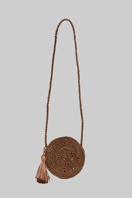 Maison N.H Paris Mini Cercle Bag - Brown
