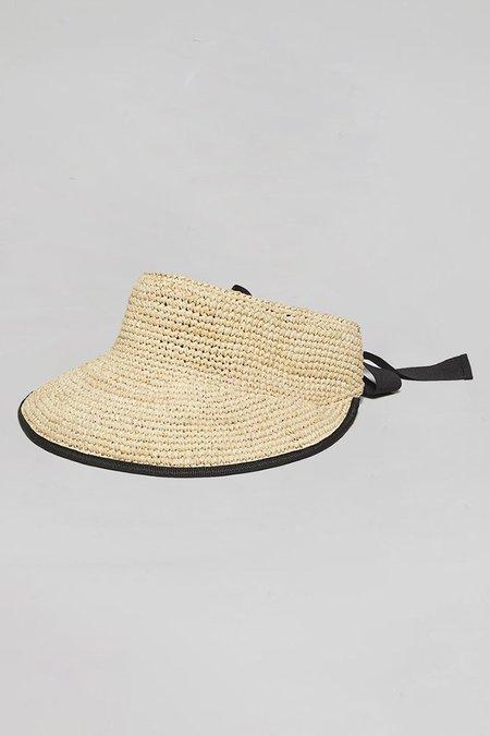 Maison N.H Paris Serena Hat - Natural