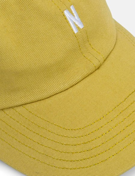 Norse Projects Twill Sports Cap - Green