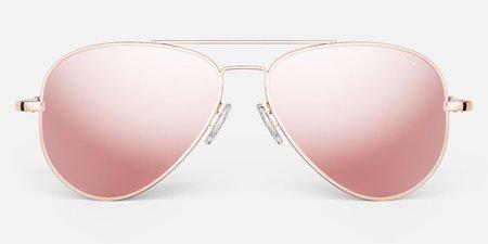 Randolph Engineering Concorde sunglasses - rose gold/Shiny rose pink