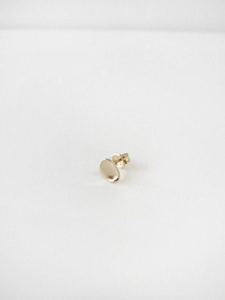 Quarry Pebble Stud Earring