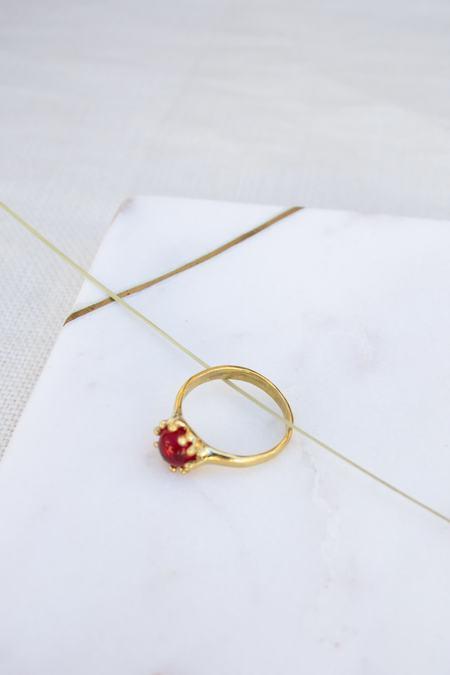Mondo Mondo Lush Ring - Ruby