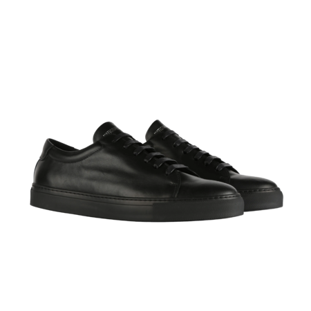 National Standard Edition 3 Low Leather M03-19F-095 SNEAERS - All Over Black