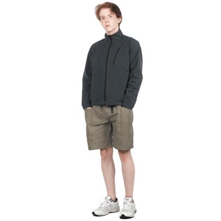 South2 West8 BOULDER SHIRT jacket - CHARCOAL