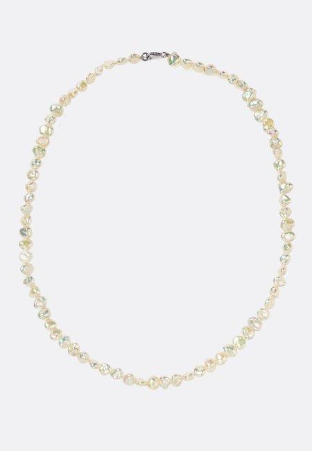 Meadowlark Baroque Necklace Midi - Silver