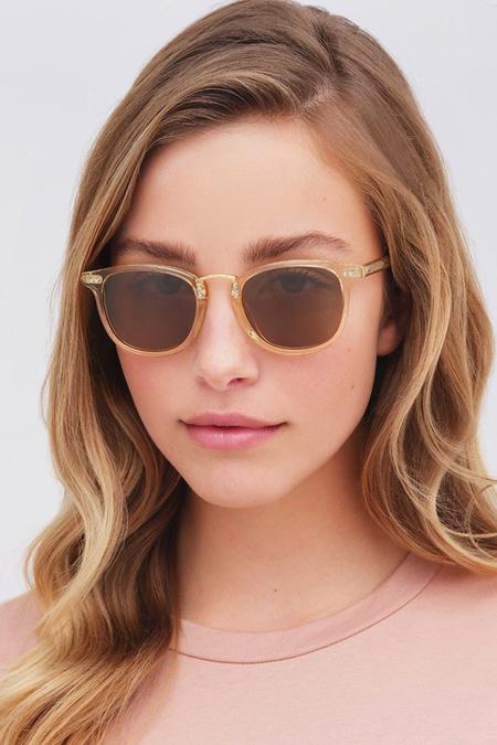 Krewe Franklin sunglasses - Neutral/Amber