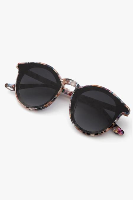 Krewe Collins Nylon eyewear - Tortoise/Gray