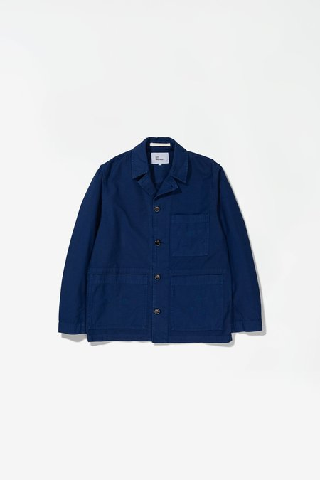 Norse Projects x GM Mads Backsatin Jacket - Hydrone Blue