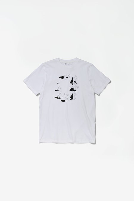Norse Projects x GM Niels Circle Logo Tshirt - White