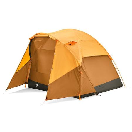 THE NORTH FACE Wawona 4-Person Tent - LIGHT EXUBERANCE BROWN ORANGE