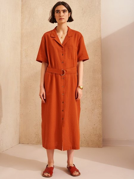 Bellerose Hilo Dress - Terracotta