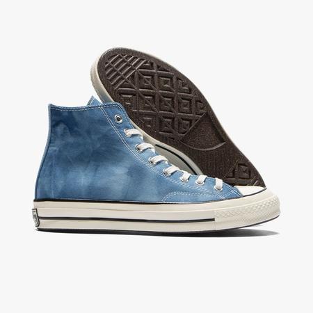 Converse Chuck 70 Washed Canvas Hi - Aegean Storm