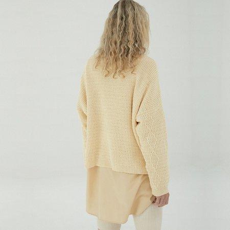 Mónica Cordera Cable Sweater - Chamomile