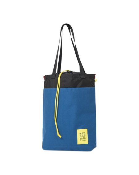 Topo Designs Bolsa Cinch Tote - Blue/Black