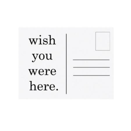 SOOuk Wish You Were Here Print
