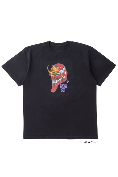 Anna Sui X Evangelion EVA-02 Shirt - black