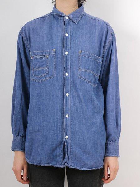 Vintage Erin Templeton denim shirt - Dark blue
