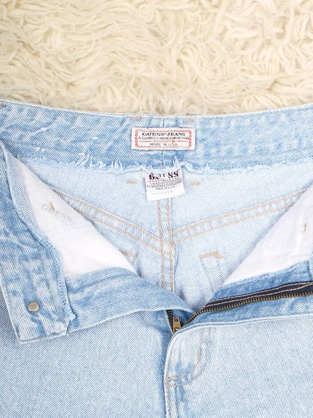 Vintage late 80's guess jeans - light wash