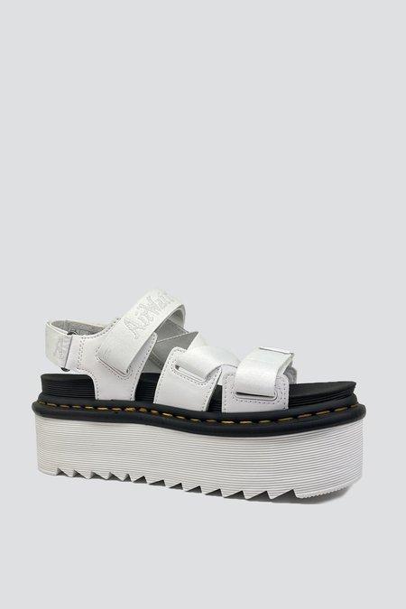 Dr. Martens Kimber Platform Sandal - White
