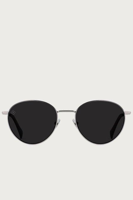 Raen Andreas Polarized Sunglasses - Ridgeline Pecan Tortoise/Dark Smoke