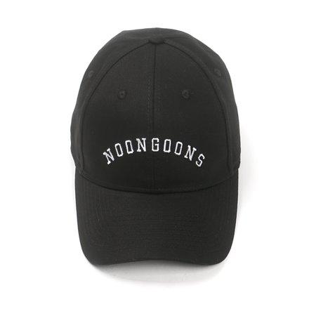Noon Goons VARSITY LOGO HAT - BLACK