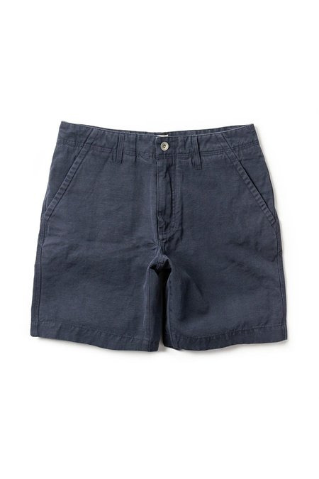 TAYLOR STITCH Slub Linen Morse Shorts