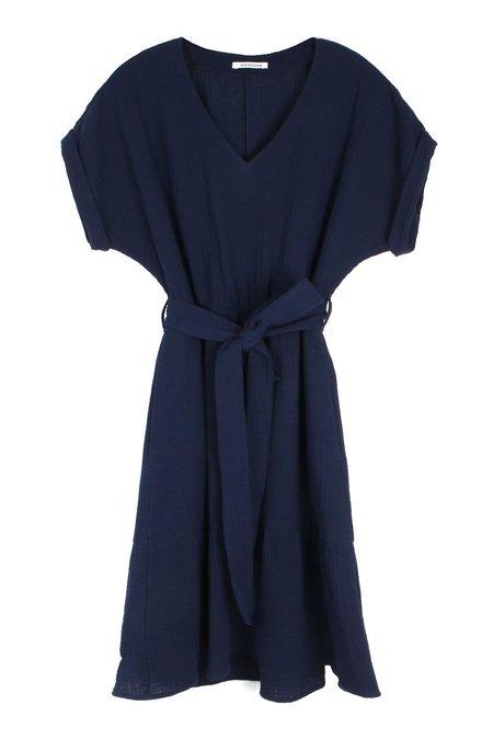 amannna Willow Dress - Navy