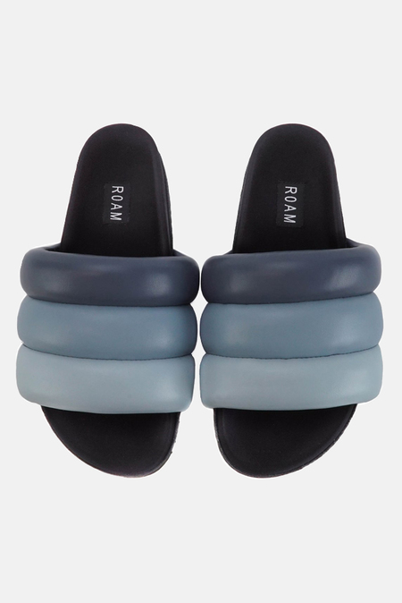 ROAM Puffy Slide Shoes - Sky Blue