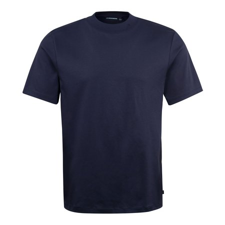 J Lindeberg Ace Mock Neck T-Shirt - Navy