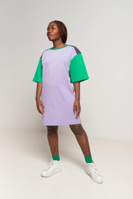 Odeyalo LIDO t-shirt dress - tricolour