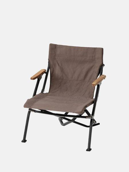 Snow Peak Low Luxe Chair - Grey
