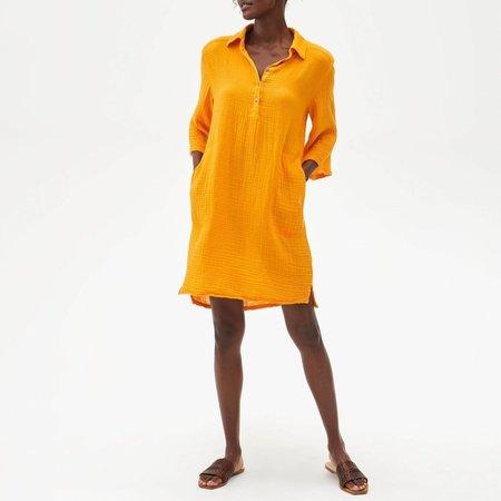 Michael Stars Cecily Dress - SAFFRON
