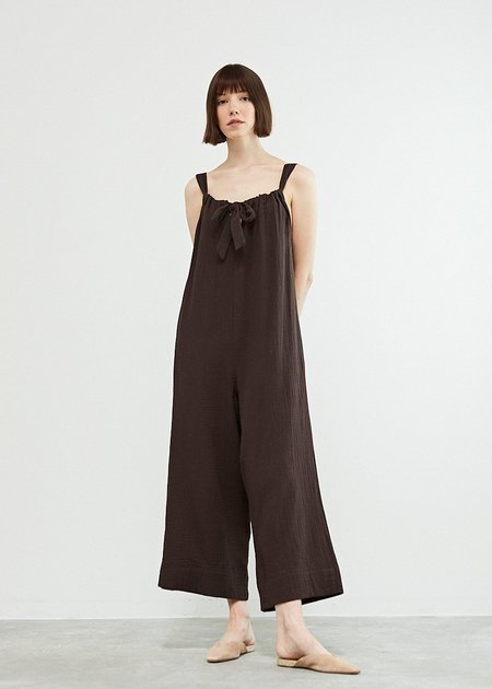 Mabel and Moss Clara Jumpsuit  - BLACK