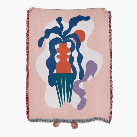Slowdown Studio Badu Throw Blanket - Multi