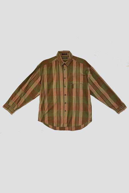 Vintage Zip Pocket Shirt -  Hunter Plaid