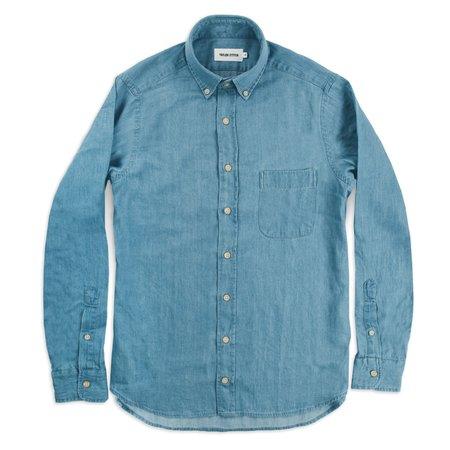 Taylor Stitch The Jack  shirt - Sun Bleached Denim