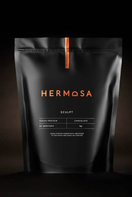 Hermosa 1kg Pouch Vegan Chocolate Protein Powder