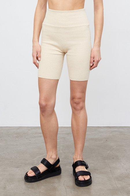 Anna Quan Bobby Shorts - Wheat