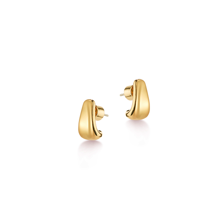 Jenny Bird Juno Huggies earrings - Gold