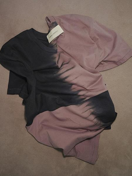 unisex Correll Correll Ori T-Shirt - Rose/Navy